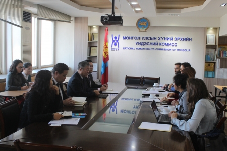 Exchange of information on situation of human rights defenders in Mongolia