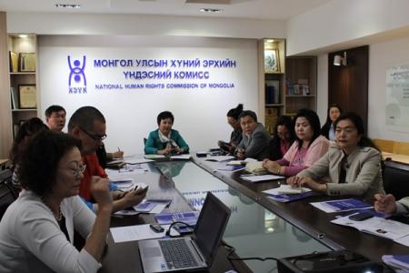 ХЭҮК-ын дэргэдэх Орон тооны бус зөвлөлийн шинэ бүрэлдэхүүн хуралдлаа. 2014.06.19