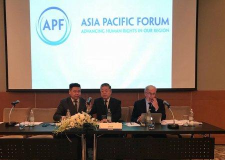Ази Номхон Далайн бүс нутгийн Хүний эрхийн Үндэсний Байгууллагуудын Чуулганыг сайн удирдсан гэж Монгол Улсыг үнэлэв