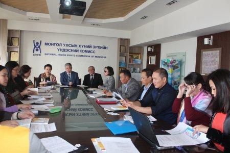 Хүний эрхийн Үндэсний Комиссын дэргэдэх Орон тооны бус зөвлөлийн бүрэлдэхүүнийг шинэчиллээ